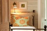 Фото 10 Кованые кровати: 115 утонченных решений для интерьера в стиле бохо, рустик и прованс