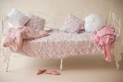 Фото 51 Кованые кровати: 115 утонченных решений для интерьера в стиле бохо, рустик и прованс