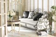 Фото 23 Кованые кровати: 115 утонченных решений для интерьера в стиле бохо, рустик и прованс