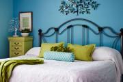 Фото 1 Кованые кровати: 115 утонченных решений для интерьера в стиле бохо, рустик и прованс