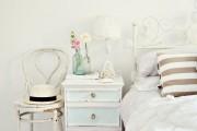 Фото 30 Кованые кровати: 115 утонченных решений для интерьера в стиле бохо, рустик и прованс