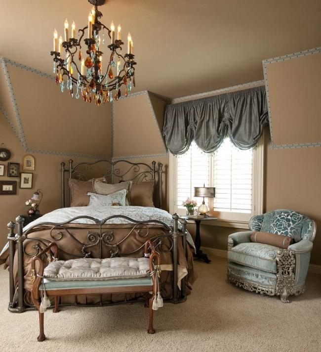 Кованая мебель добавит чувства роскоши вашему интерьеру