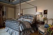 Фото 35 Кованые кровати: 115 утонченных решений для интерьера в стиле бохо, рустик и прованс