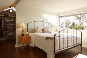 Фото 38 Кованые кровати: 115 утонченных решений для интерьера в стиле бохо, рустик и прованс