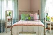 Фото 41 Кованые кровати: 115 утонченных решений для интерьера в стиле бохо, рустик и прованс