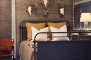 Фото 42 Кованые кровати: 115 утонченных решений для интерьера в стиле бохо, рустик и прованс