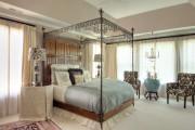 Фото 43 Кованые кровати: 115 утонченных решений для интерьера в стиле бохо, рустик и прованс