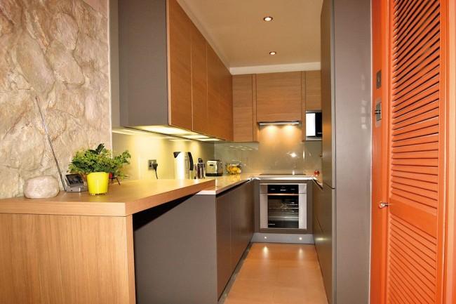 Подсветка рабочей поверхности на кухне очень важный момент