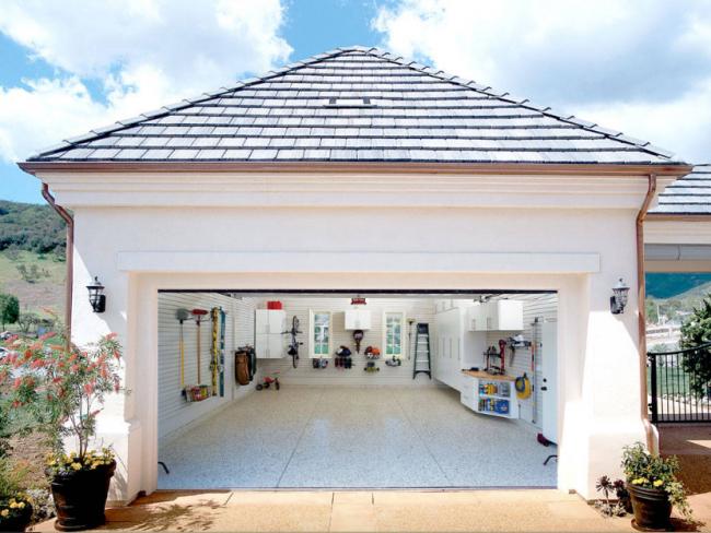 Главным условием функционального гаража является порядок