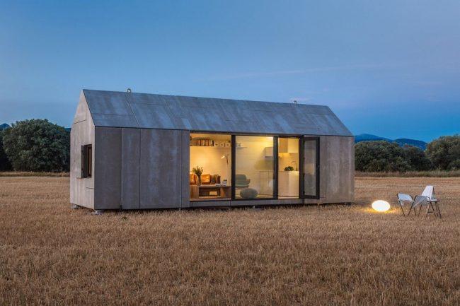 Небольшой одноэтажный дом в скандинавском стиле