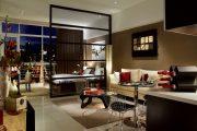 Фото 7 Дизайн-проект однокомнатной квартиры: 85 элегантных решений для оптимизации пространства