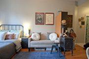 Фото 10 Дизайн-проект однокомнатной квартиры: 85 элегантных решений для оптимизации пространства
