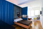 Фото 11 Дизайн-проект однокомнатной квартиры: 85 элегантных решений для оптимизации пространства