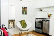 Фото 16 Дизайн-проект однокомнатной квартиры: 85 элегантных решений для оптимизации пространства