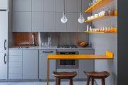 Фото 17 Дизайн-проект однокомнатной квартиры: 85 элегантных решений для оптимизации пространства