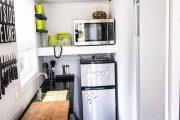 Фото 23 Дизайн-проект однокомнатной квартиры: 85 элегантных решений для оптимизации пространства