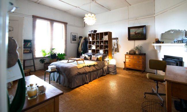 Дизайн-проект однокомнатной квартиры с верхним освещением