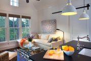 Фото 26 Дизайн-проект однокомнатной квартиры: 85 элегантных решений для оптимизации пространства
