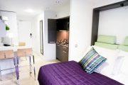 Фото 35 Дизайн-проект однокомнатной квартиры: 85 элегантных решений для оптимизации пространства