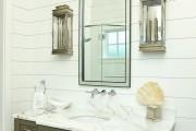 Фото 7 Пластиковые панели для ванной: бюджетный вариант для стильного интерьера и 45+ лучших реализаций