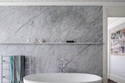 Фото 10 Пластиковые панели для ванной: бюджетный вариант для стильного интерьера и 45+ лучших реализаций