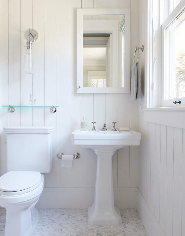 Белый цвет сделает комнату просторнее