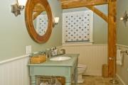 Фото 18 Пластиковые панели для ванной: бюджетный вариант для стильного интерьера и 45+ лучших реализаций