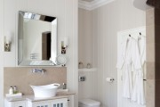 Фото 23 Пластиковые панели для ванной: бюджетный вариант для стильного интерьера и 45+ лучших реализаций