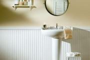 Фото 25 Пластиковые панели для ванной: бюджетный вариант для стильного интерьера и 45+ лучших реализаций