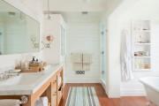 Фото 26 Пластиковые панели для ванной: бюджетный вариант для стильного интерьера и 45+ лучших реализаций