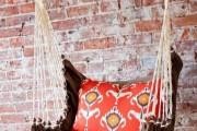 Фото 11 Подвесные кресла своими руками: 40+ вдохновляющих идей и пошаговый процесс создания