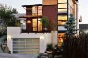 Фото 3 Проекты каркасных домов с гаражом своими руками: технологии строительства, схемы и преимущества