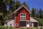 Фото 7 Проекты каркасных домов с гаражом своими руками: технологии строительства, схемы и преимущества