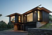 Фото 9 Проекты каркасных домов с гаражом своими руками: технологии строительства, схемы и преимущества