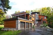 Фото 14 Проекты каркасных домов с гаражом своими руками: технологии строительства, схемы и преимущества