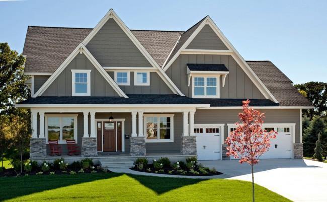 Классика в дизайне частных домов всегда остается актуальной