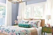 Фото 5 Выбираем шторы для спальни: материалы, колористика и 50 трендовых дизайнерских решений