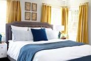 Фото 9 Выбираем шторы для спальни: материалы, колористика и 50 трендовых дизайнерских решений