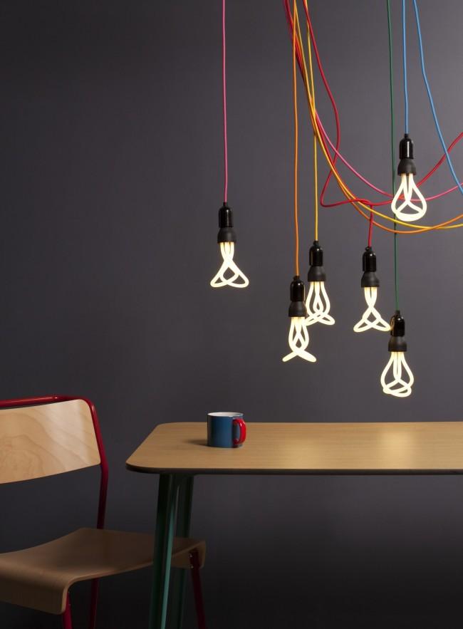 Лампы вычурных форм могут с легкостью стать прекрасным элементом декора