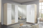 Фото 14 Угловой шкаф в спальню: обзор современных моделей в интерьере и рекомендации по выбору