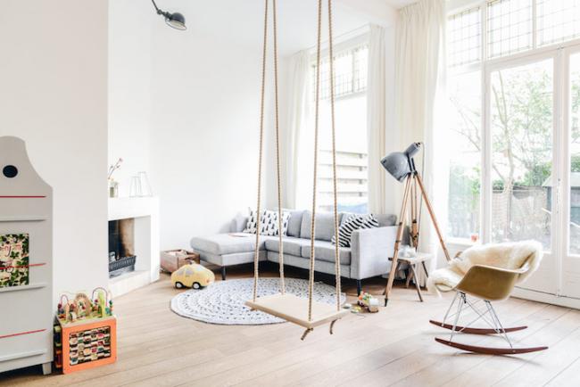 Молодым семьям, живущим в маленькой квартире, просто не обойтись без детской зоны
