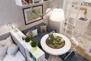 Фото 14 Зонирование комнаты: как оптимально задействовать пространство и 50+ лучших примеров