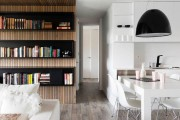 Фото 17 Зонирование комнаты: как оптимально задействовать пространство и 50+ лучших примеров