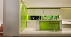 Дизайн кухни зеленого цвета (42 фото): самые сочные сочетания фото