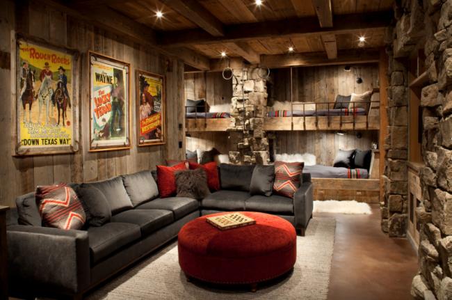 Комната и кроватки для любителей дикого запада