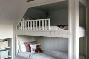 Фото 15 Детская двухъярусная кровать: как экономить полезное пространство для ребенка