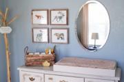 Фото 6 Комод с пеленальным столиком: как сделать нужную вещь стильной и обзор лучших дизайнерских предложений