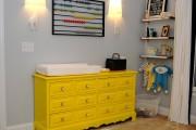 Фото 3 Комод с пеленальным столиком: как сделать нужную вещь стильной и обзор лучших дизайнерских предложений
