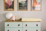 Фото 25 Комод с пеленальным столиком: как сделать нужную вещь стильной и обзор лучших дизайнерских предложений
