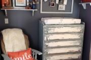 Фото 2 Комод с пеленальным столиком: как сделать нужную вещь стильной и обзор лучших дизайнерских предложений